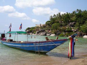 Bucht auf Koh Tao
