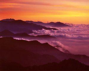 Sonnenuntergang in Hehuan, Taiwan, ©Taipei Tourism Office