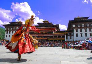 Buddhistische Feier in Bhutan,©Tourism Council of Bhutan
