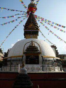 Stupa von Bodnath im Kathmandutal