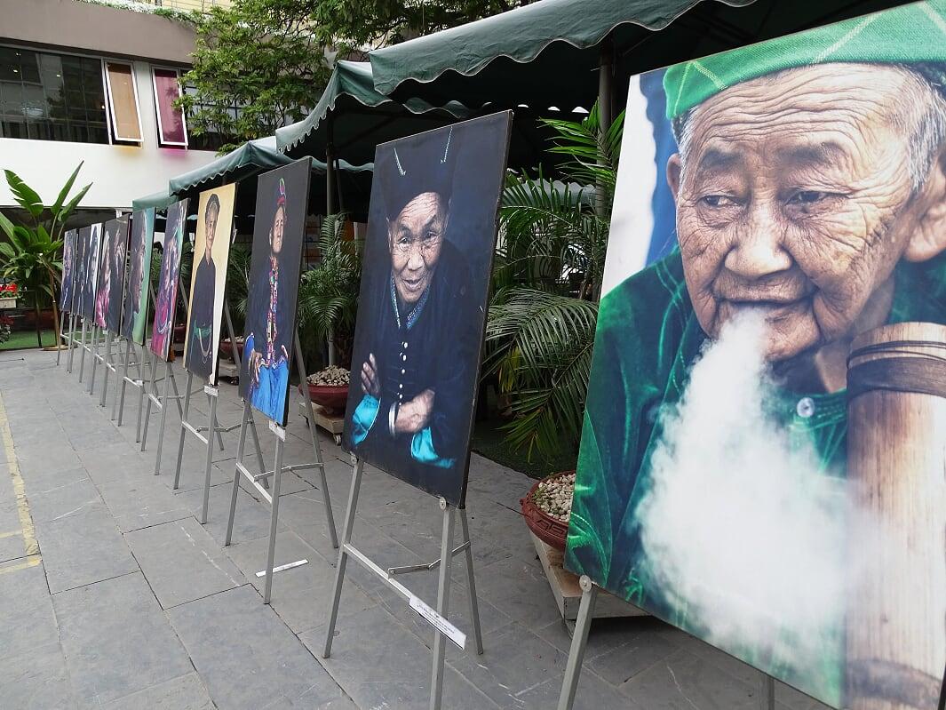 Bilderausttellung Frauenmuseum Hanoi