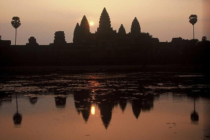 Angkor Wat in der Morgenröte (Copyright@ Tourism Cambodia)