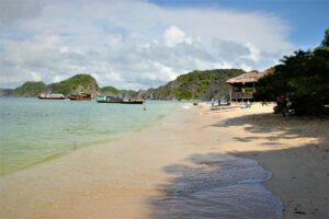Strand auf Monkey Island, Vietnam (© Natalie Drexl)