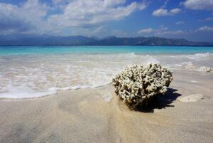 Strand auf Gili Meno, Indonesien