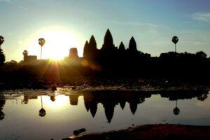 Angkor Wat Sonnenaufgang ©Tourism Cambodia
